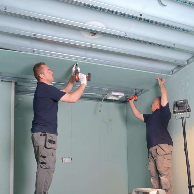 Metal Stud Plafond Stap 05